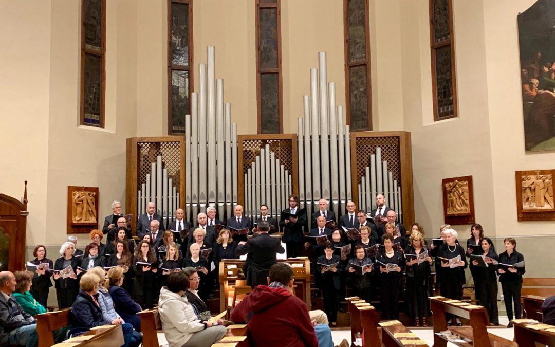 25 mag: Concerto della Corale del Santuario in onore del Santo Padre