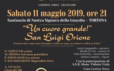 Tortona (Santuario): Sabato 11 maggio alle ore 21 elevazione spirituale in onore di Don Orione con la presenza del Vescovo Viola