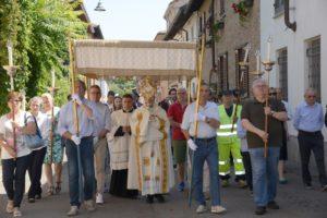 Pontecurone: Celebrato l'anniversario della nascita di Don Orione nella solennità del Corpus Domini – FOTO e AUDIO omelia