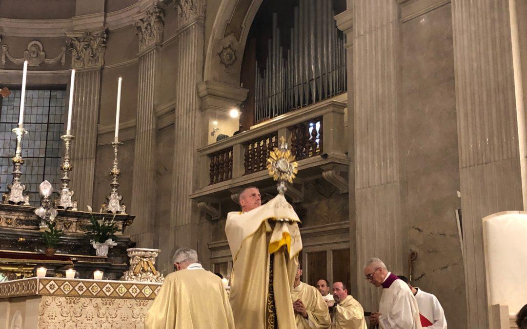 Tortona: Celebrato il Corpus Domini con il vescovo Mons. Viola – AUDIO omelia