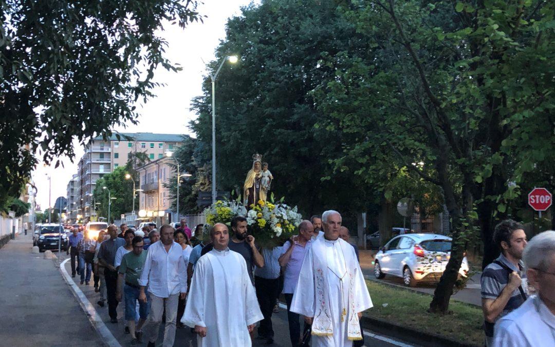 16 lug: Celebrata la Festa della Madonna del Carmine – FOTO e AUDIO RIFLESSIONE DON VANOI