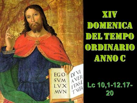 XIV dom del Tempo Ordinario – AUDIO commento di don Achille Morabito