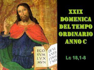 XXIX dom del Tempo Ordinario – AUDIO commento di don Achille Morabito