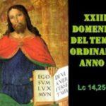 XXIII dom del Tempo Ordinario – AUDIO commento di don Achille Morabito