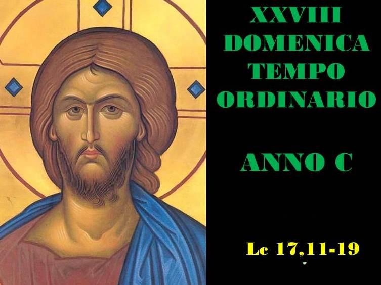 XXVIII dom del Tempo Ordinario – AUDIO commento di don Achille Morabito