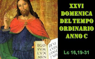 XXVI dom del Tempo Ordinario – AUDIO commento di don Achille Morabito
