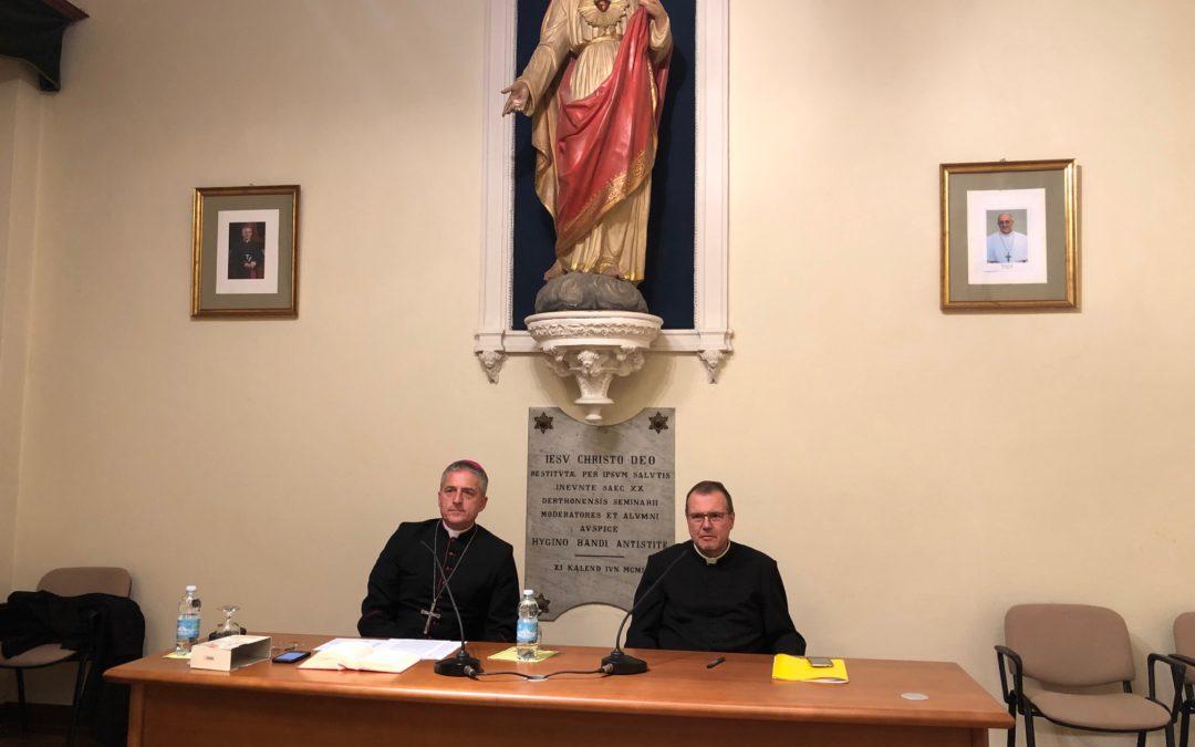 17 ott: Il Vescovo apre l'anno accademico della Scuola di Teologia diocesana. – AUDIO prolusione