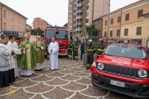 Tortona (Santuario): Celebrata dal vescovo Viola la Giornata del Ringraziamento e il ricordo dei tre giovani Vigili del Fuoco – FOTO e AUDIO omelia